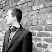 DJ Chamber - Street Promo Shot 4 (Black and White) - Megan Hillman Photography 4